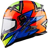 ZHYY Alto Grado Cara Completa Casco de Motocicleta Lente antivaho Casco de Motocross D.O.T Certified &