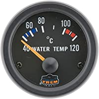 Wassertemperaturanzeige in schwarz