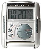 Seiko Travel Alarm Get Up and Glow Clock...