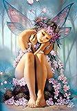 DIY 5D Diamant Malerei, Charakter Kreuzstich, Butterfly Fairy, Beauty Elf, Handwerk, Stickerei Set, Cube Runde Diamant 40X55cm Full Diamond