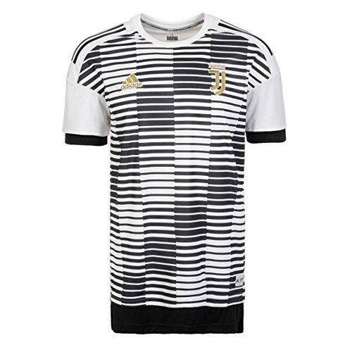 adidas Herren Juve Trikot, White/Black, L