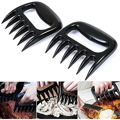 Garras de carne, 2o Tirando de manejo de alto grado de garras de oso para fácil en tiras, carne, pollo y pescado, por chuzy Chef®