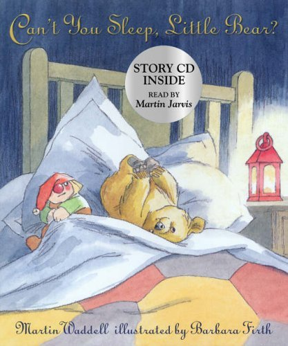 Can't You Sleep, Little Bear? (Book & CD) by Martin Waddell (2006-03-06)