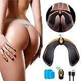 EGEYI EMS Hips Electroestimulador Muscular, Gluteos Estimulador de Glúteos Herramientas Nalgas HipTrainer para la Cadera Mujer USB Recargable,Estimulador Muscular Ejercitar Gluteos, Hombre y Mujer
