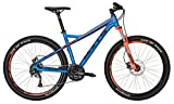Bulls Mountainbike 27.5 Zoll Sharptail 2 Disc - Herren Fahrrad, 24 Gang Shimano - Blau-Orange