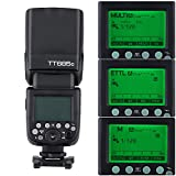 GODOX TT685C E-TTL 2.4G Senza Fili Maestro-Schiavo Flash Lampeggiatore per Canon EOS 650D 600D 550D 500D 5D Mark III