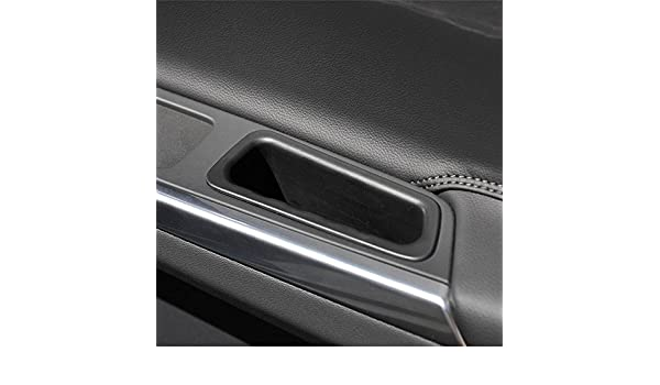 2pcs Front Doors Interior Container Armrest Storage Boxes Box for VOLVO XC60 2010-2016