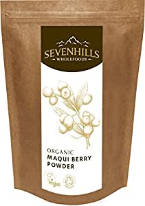 Sevenhills Wholefoods Organic Raw Maqui Berry Powder 250g