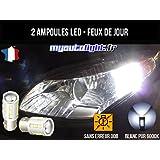 Pack feux de jour à led blanc xenon pour Renault Mégane 3