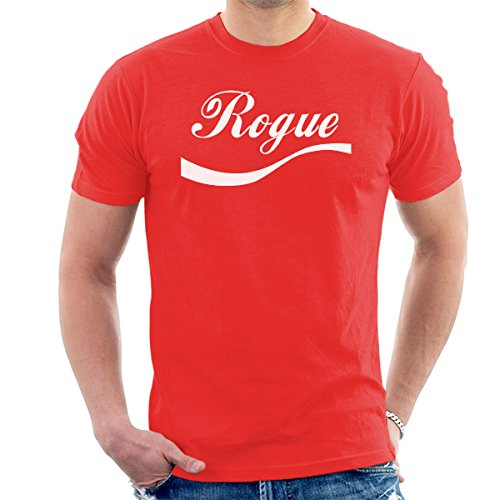 Star Wars Rogue One Rogue Cola Logo Men's T-Shirt Red
