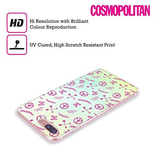 Official Cosmopolitan Butterflies Boho Soft Gel Case for Apple iPhone X Seamless