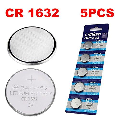Preisvergleich Produktbild 5PCS / Packed Knopfzellenbatterie Lithium-Batterie 3Volt, 3V Lithium Knopf Batterie Knopfzelle Knopfzelle Für Watch Car Fernbedienung Waage Selfie Spielzeug und so weiter (CR1632 5PCS / Packed)