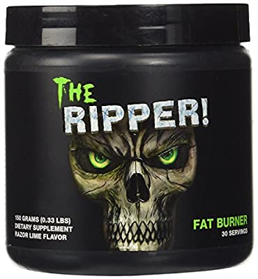 Cobra Labs - The Ripper - Fat Burner - 150g / 30 Servings (Razor Lime) from Cobra Labs