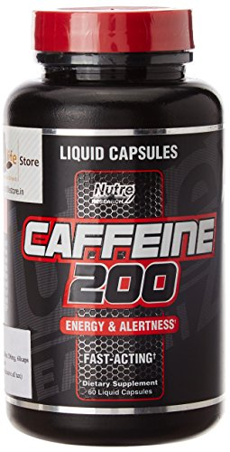 Nutrex Research Caffeine 200 mg - 60 Capsules