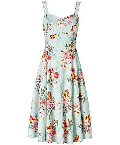 Joe Browns Into the Night Summer Dress, Robe Femme Mint Multi