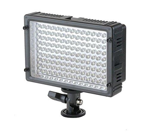 Impulsfoto - Lampada a 160 LED per video e foto, con variatore di intensità e (Dedolight Lampada)