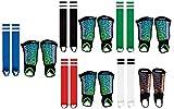 Die Sportskanone Tornado Schienbeinschoner Set mit Knöchelschutz und Stutzen