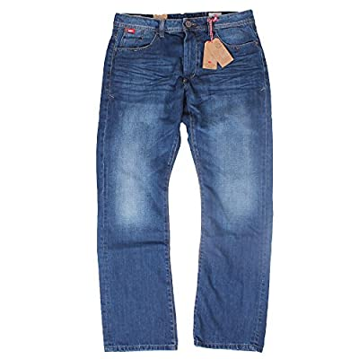 "Lee Cooper Jeans Bootcut Mid Wash Mens Carter 30"" 32"" 34"" 36"" 38"" 40"""