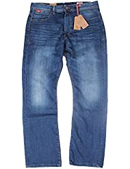 Lee Cooper - Jeans - Homme Bleu Bleu