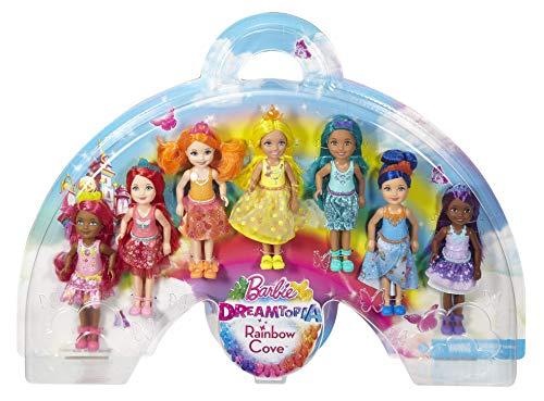 Barbie Juego de regalo Dreamtopia Rainbow Cove 7 Chelsea Doll