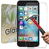 [2-Pack] Pellicola Protettiva iPhone 6/6S,Genki Pellicola Vetro Temperato iPhone 6/6S,3D Toccare Compatibile,9H Durezza Ultra Resistente Vetro Temperato Screen Protector Film per iPhone 6/6S immagine