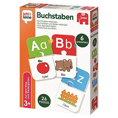 Jumbo Spiele 19548 - Ich Lerne Buchstaben (Lernen Kinder Spielzeug)