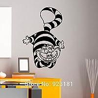 Alice nel Paese delle Meraviglie Stregatto Wall Art sticker adesivo