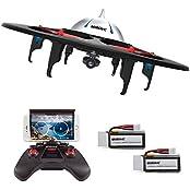 UDIRC U845 WIFI FPV Drohne mit Kamera Kopflosmodus 360° Flip Funktion Quadrocopter UFO-Form Drone mit Gravität Induktion