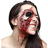 viving Kostüme viving costumes204526 Latex Zombie Wunde (One Size)