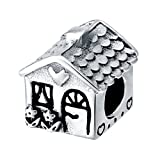 CHANGEABLE Charms Bead da Donna Argento Sterling 925 (dolce casa)