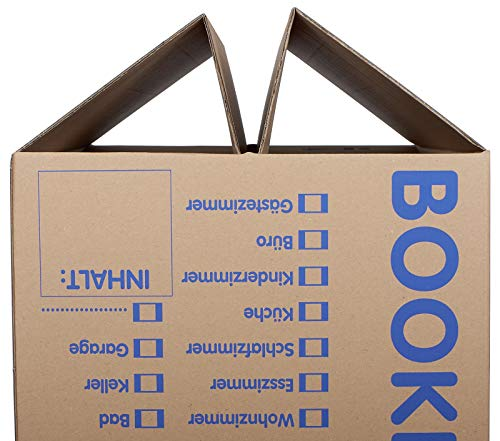 10 Stück Bücherkartons Profi Qualität - 2