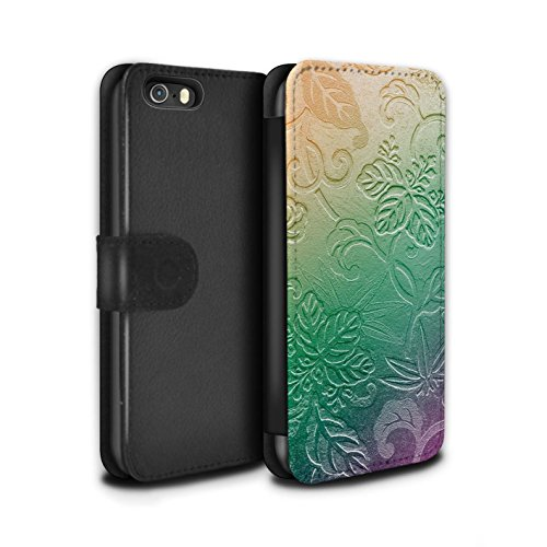 STUFF4 PU-Leder Hülle/Case/Tasche/Cover für Apple iPhone 6+/Plus 5.5 / Pop Art Partei Muster / Modern Lebendig Kollektion Geprägte Ombre