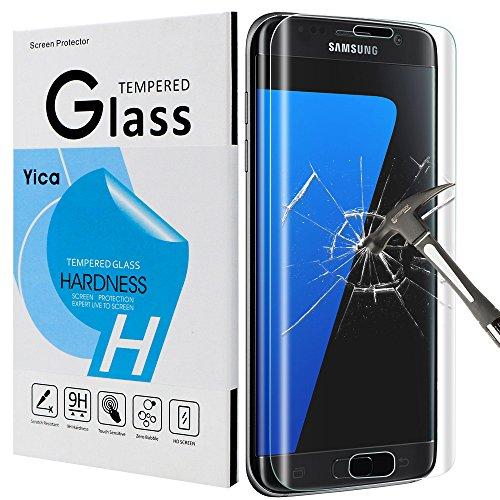 Samsung Galaxy S7 Edge Protector de Pantalla, Yica [Anti-Arañazos] [Anti-Huellas Dactilares] [Libre...