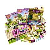 Bausteine gebraucht 1 x Lego System Teile Set Modell für 3315 Haus Gebäude Teil für Friends Olivia's House Traumhaus beige rosa mit Bauanleitung unvollständig
