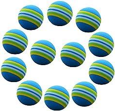 Winomo 20PCS Golf pratica spugna schiuma palle da allenamento indoor (blu)