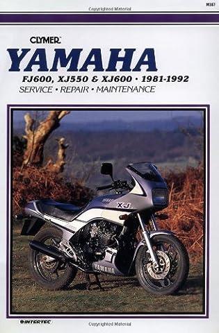 Yamaha XJ550, XJ600 and FJ600, 1981-1992: Clymer Workshop