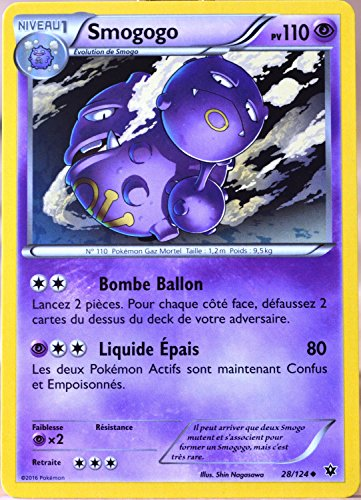 carte Pokémon 28/124 Smogogo 110 PV XY - Impact des Destins