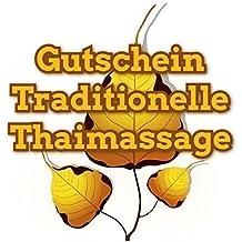 """Geschenkgutschein 90min """"Thaimassage"""" Nings.de Massage in Dresden"""
