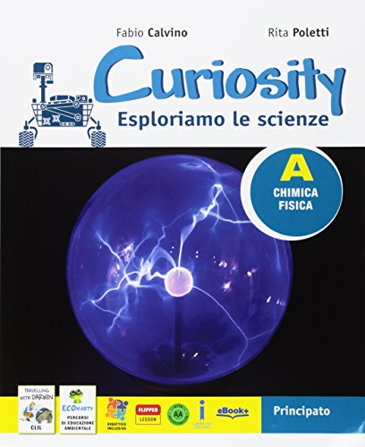 Curiosity. Esploriamo le scienze. Per la Scuola media. Con 2 Libri: Travelling with Darwin-EcoMarty. Con e-book. Con espansione online: 1-2-3-4