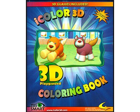 3D Playground Coloring Book