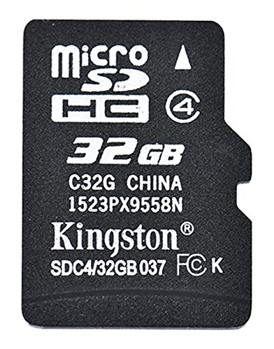 Kingston 32GB Micro SDHC class 4 memory card