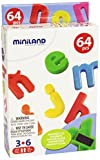 Miniland Magnetic Lowercase Letters  (62 Pieces)