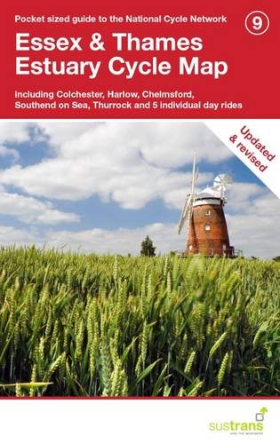 Essex & Thames Estuary Cycle Map: Including Colchester, Harlow, Chelmsford, Southend on Sea, Thurrock and 5 Individual Day Rides