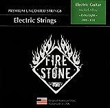 Fire and Stone 673240 Cordes pour Guitare Electrique