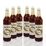 Monin Sirup Caramel 8 x 1 l PET-Flasche Karamell Karamellsirup