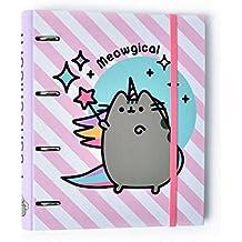 Grupo Erik Editores - Carpeta 4 Anillas Troquelada Premium Pusheen The Cat