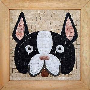 Trois petits points Mosaic Box Bulldog Face-GEANT, 6192459602493, Universal