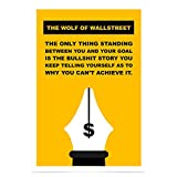 WonderwallPoster WP323A2 The Wolf of Wall Street Poster Bild – Din A2+ 42 x 61 cm (Weitere Größen erhältlich)