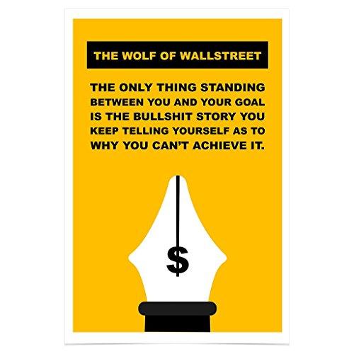 WonderwallPoster WP323A4 The Wolf of Wall Street Poster Bild – Din A4 21 x 29,7 cm (Weitere Größen erhältlich)