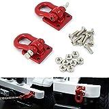 ZuoLan 1/10 Echelle Remorque Chaînes Rouges pour RC Crawler Car SCX10 Truck Accessoires